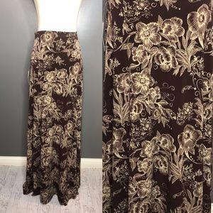 LuLaRoe Maxi Skirt Size Large NWT